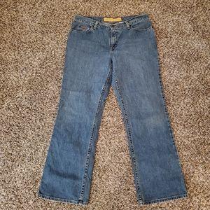 Eddie Bauer bootcut size 14R EUC jeans